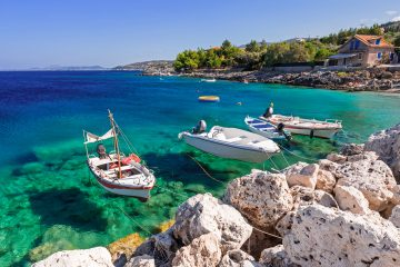 Zakynthos bay